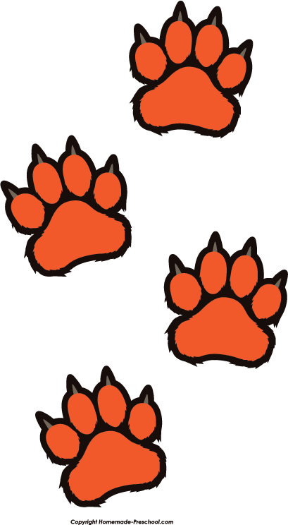 Free paw prints click. Paws clipart clip art library library