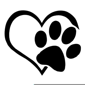 Paws clipart badger. Black white free images