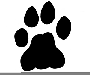 Paws clipart lion. Paw print free images