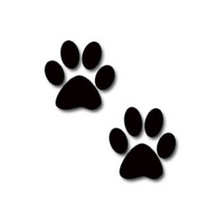 Paws clipart two. Best clip art
