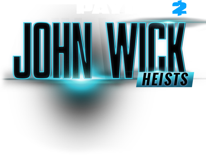 Payday 2 logo png. John wick heists safe