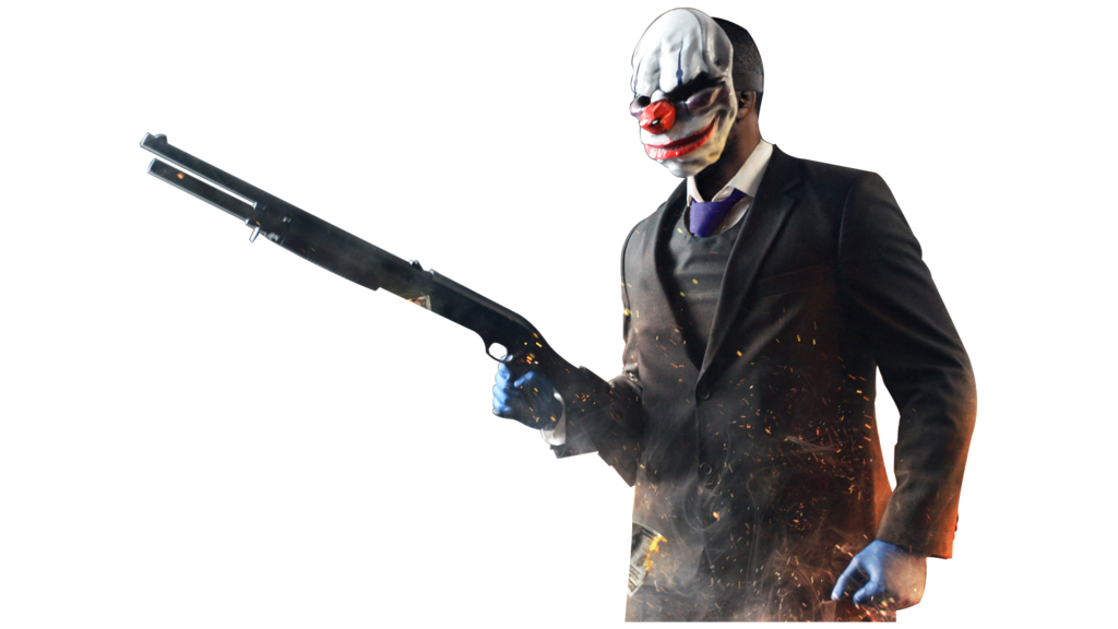 Payday 2 png. Chains render by solar
