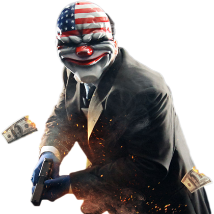 Payday 2 png. Dallas roblox