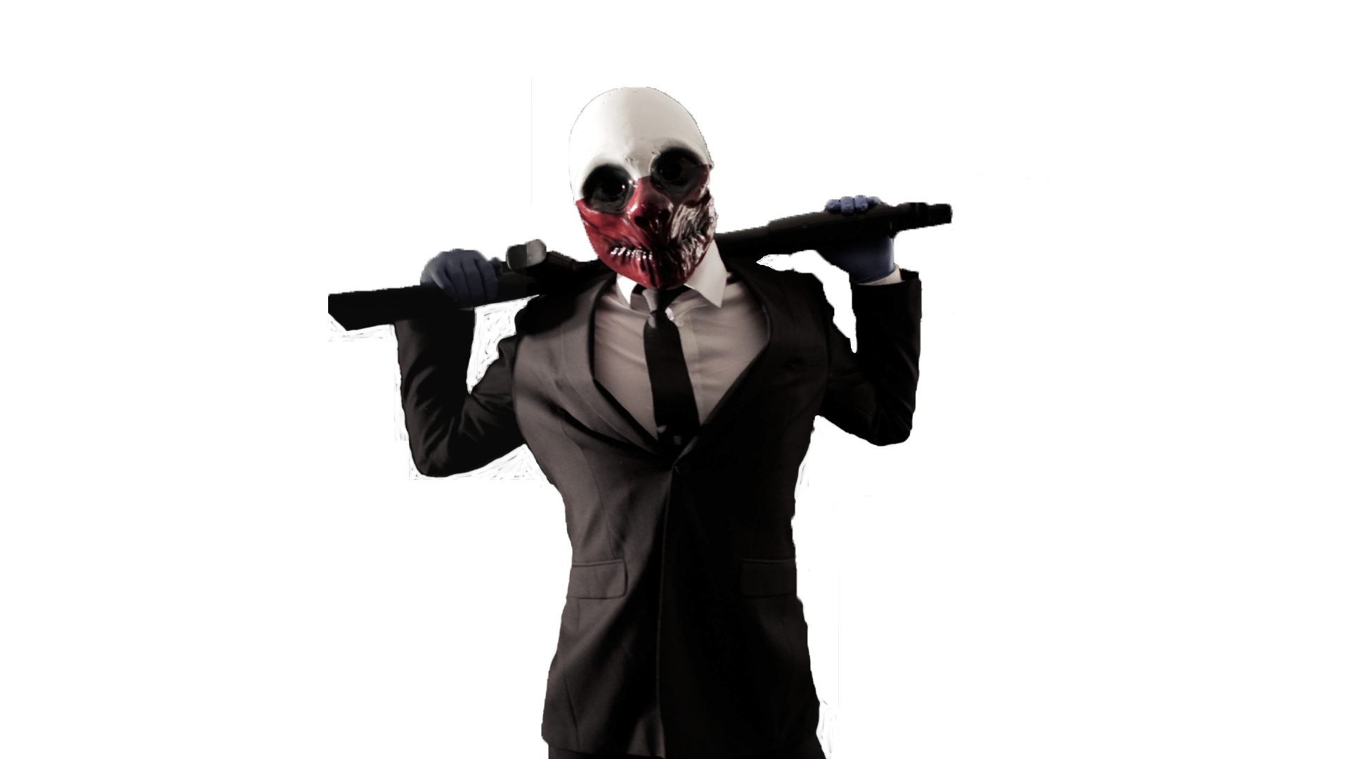 Payday 2 png. The heist gray wolf