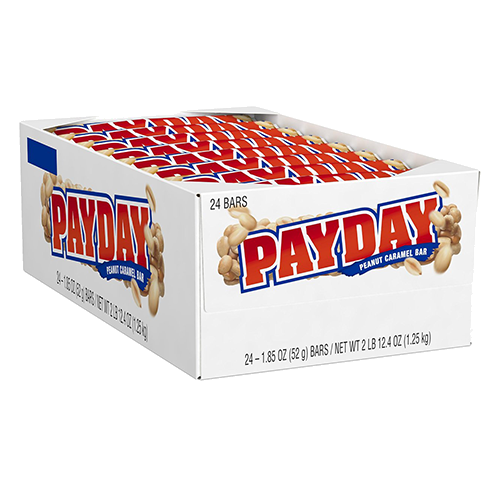 Payday candy bar png. Peanut caramel oz great