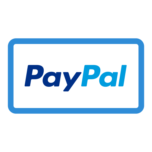 Paypal png. Icon with and vector
