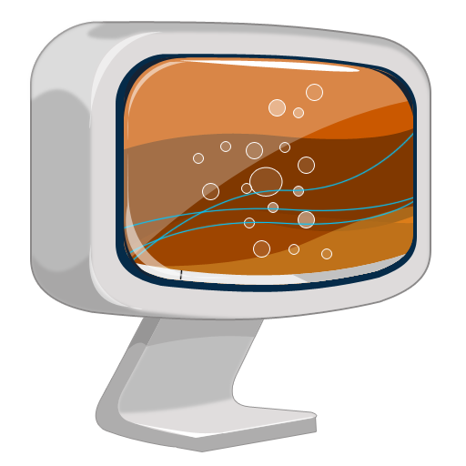Pc cartoon png. Computer icon iconset robsonbillponte