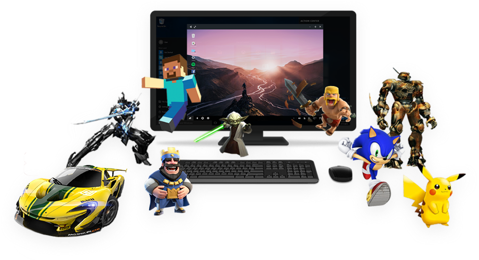 Pc game png. Remix os player the