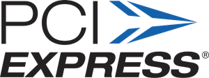 Express logo ai free. Pci vector royalty free stock