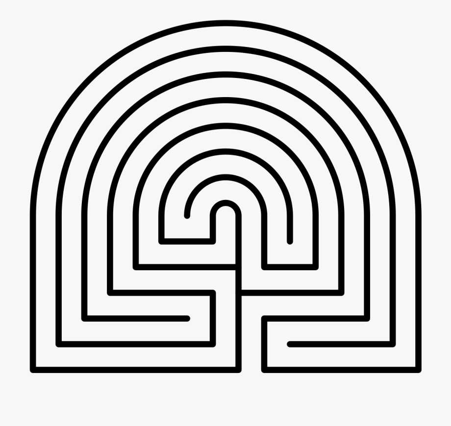 Pdf maze. Printable finger labyrinth for