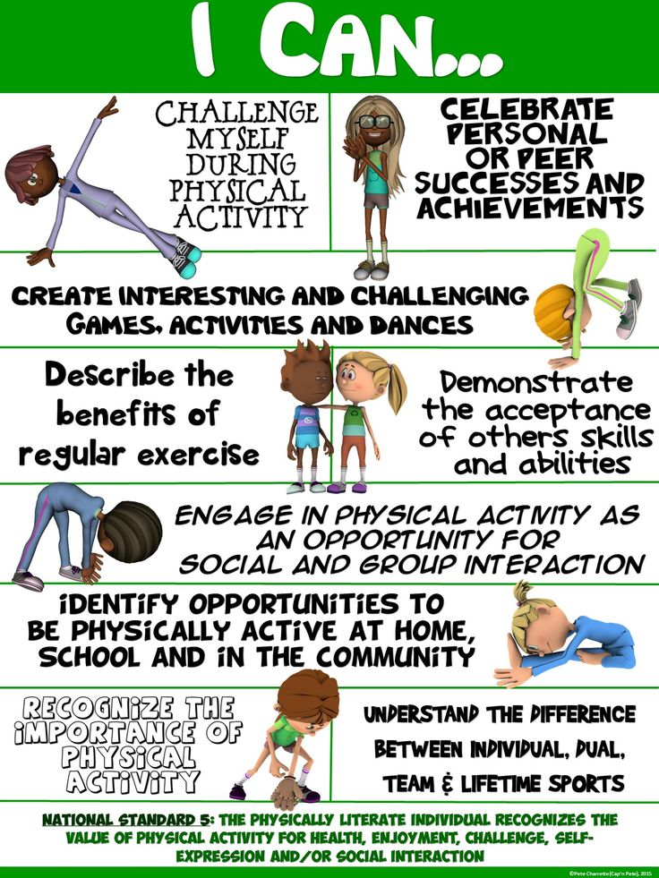 Pe clipart important. Best health posters