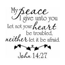 Peace clipart bible. Image result for verses