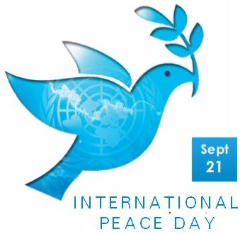 Peace clipart non violence. September international day meaningful