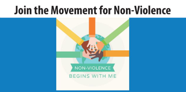 Peace clipart non violence. Join the movement for
