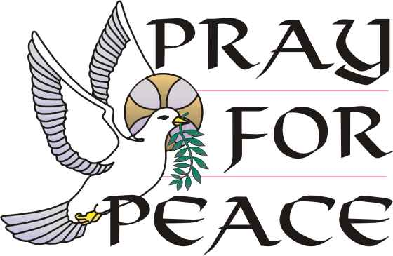 Peace clipart pichers. Pray for