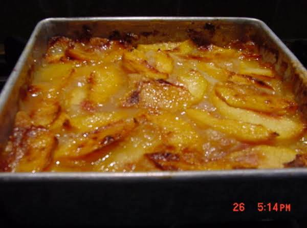 Peach clipart peach cobbler. Batter recipe just a