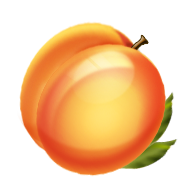 Yellow peach. Peaches transparent png pictures