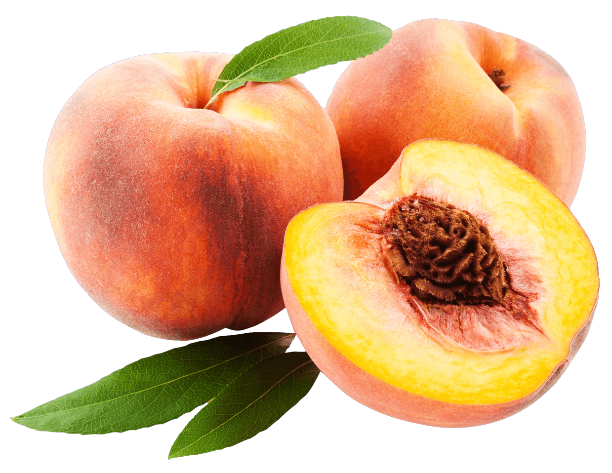 Peaches transparent. Peach trio png stickpng