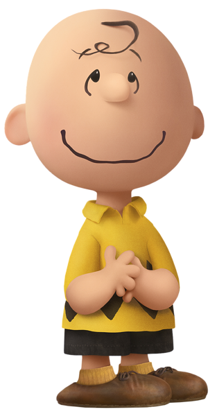 Peanut transparent cartoon. Charlie brown the peanuts