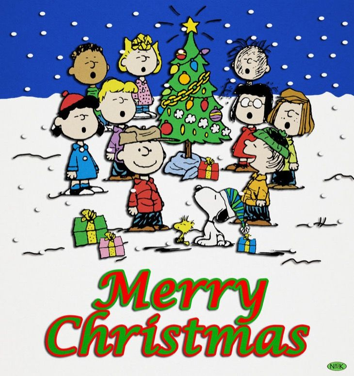 Peanuts clipart pack. Nothing says christmas like