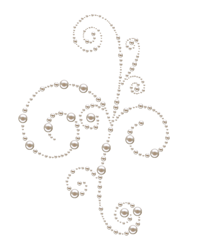 Pearl swirls by melissa. Pearls png transparent svg royalty free download