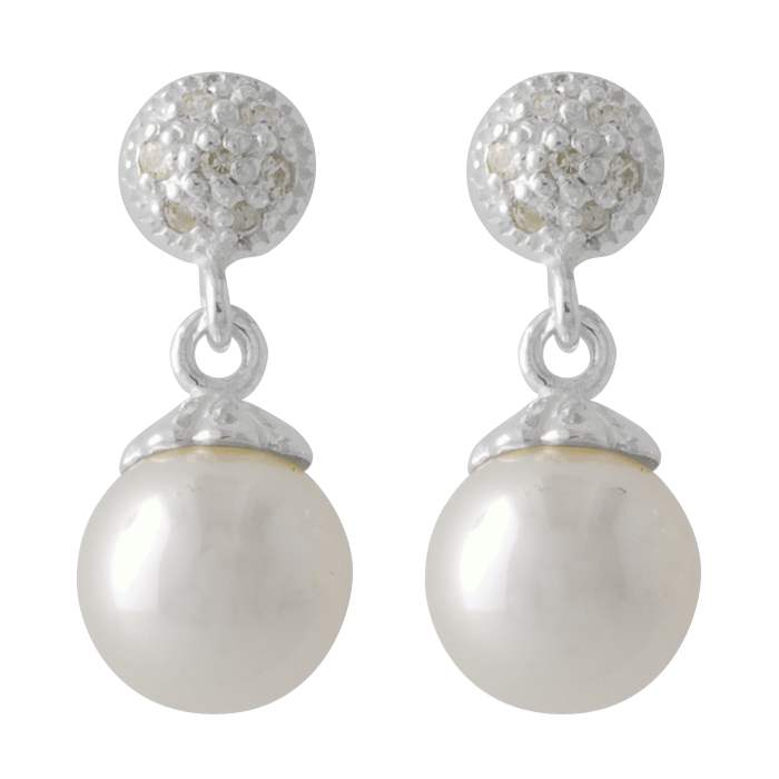 Pearl earring png. Ear ring stock by