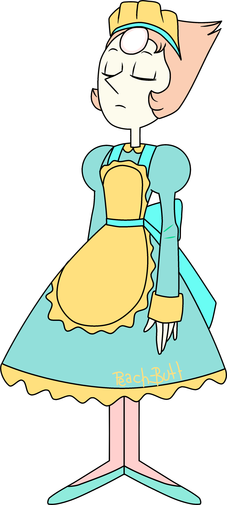 Maid clipart maid outfit. Pearl steven universe know