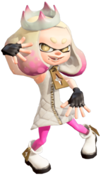 Transparent pearls poses. Pearl inkipedia the splatoon