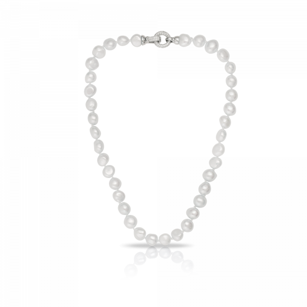Pearl strand png. Freshwater set in sterling