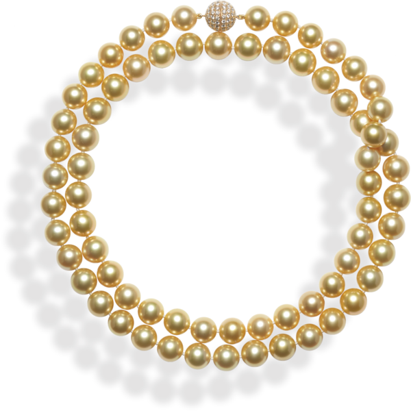 Transparent pearls golden. By shari jackson wy