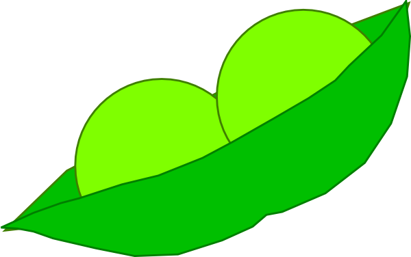 peas drawing two
