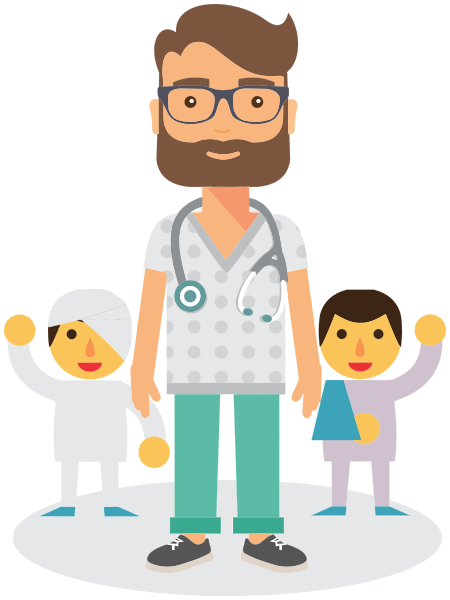 Pediatrician clipart. Medical personnel doctor png