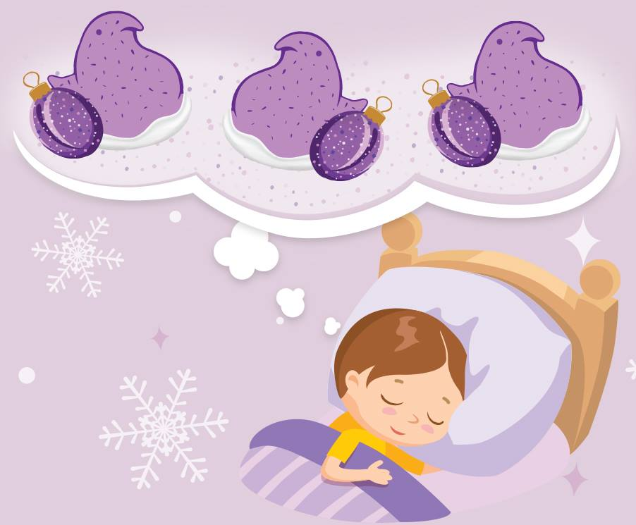 Peeps clipart purple. Holiday flavored come to
