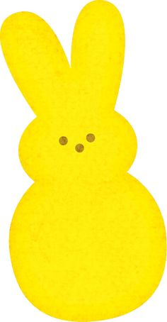 Pastel light from printabletreats. Peeps clipart yellow clip art freeuse download