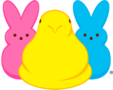 Peep a palooza draw. Peeps clipart yellow png royalty free library