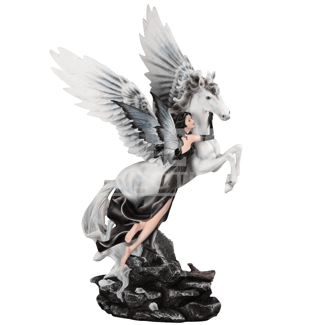Pegasus statue png. Dark fairy and by