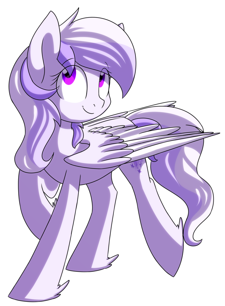 Pegasus transparent purple. Artist chub wub