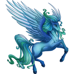 pegasus transparent sea