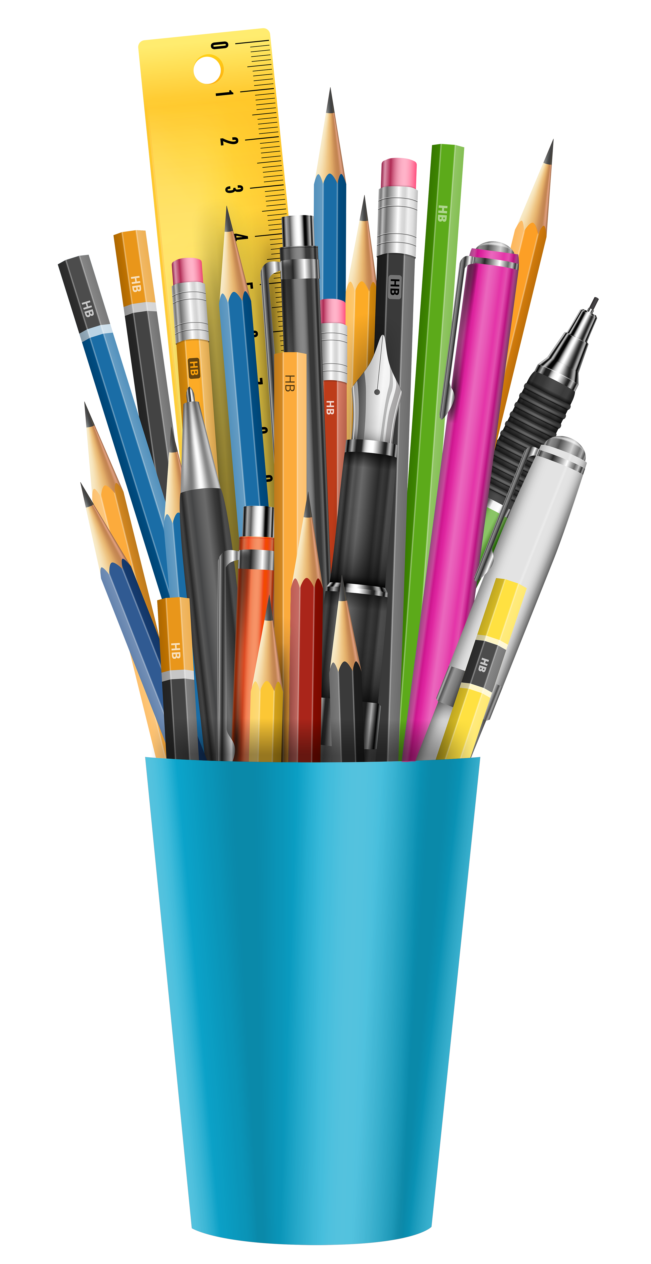 Cup transparent pens. Pencil png clipart picture