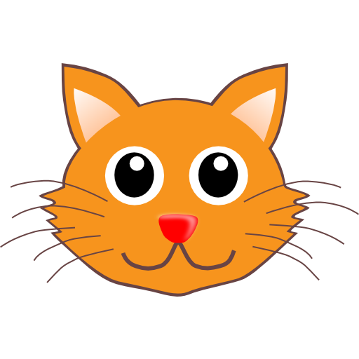 Pencil clipart face. Whiskers kitten and in