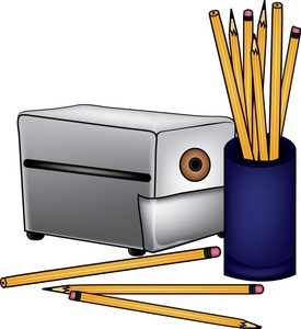 Sharpener clipart small pencil. Monitor free computer signs