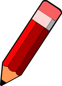 Pencils clipart red. Free svg files ideas