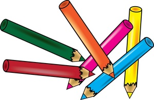 Pencils clipart school. Free image drawing of