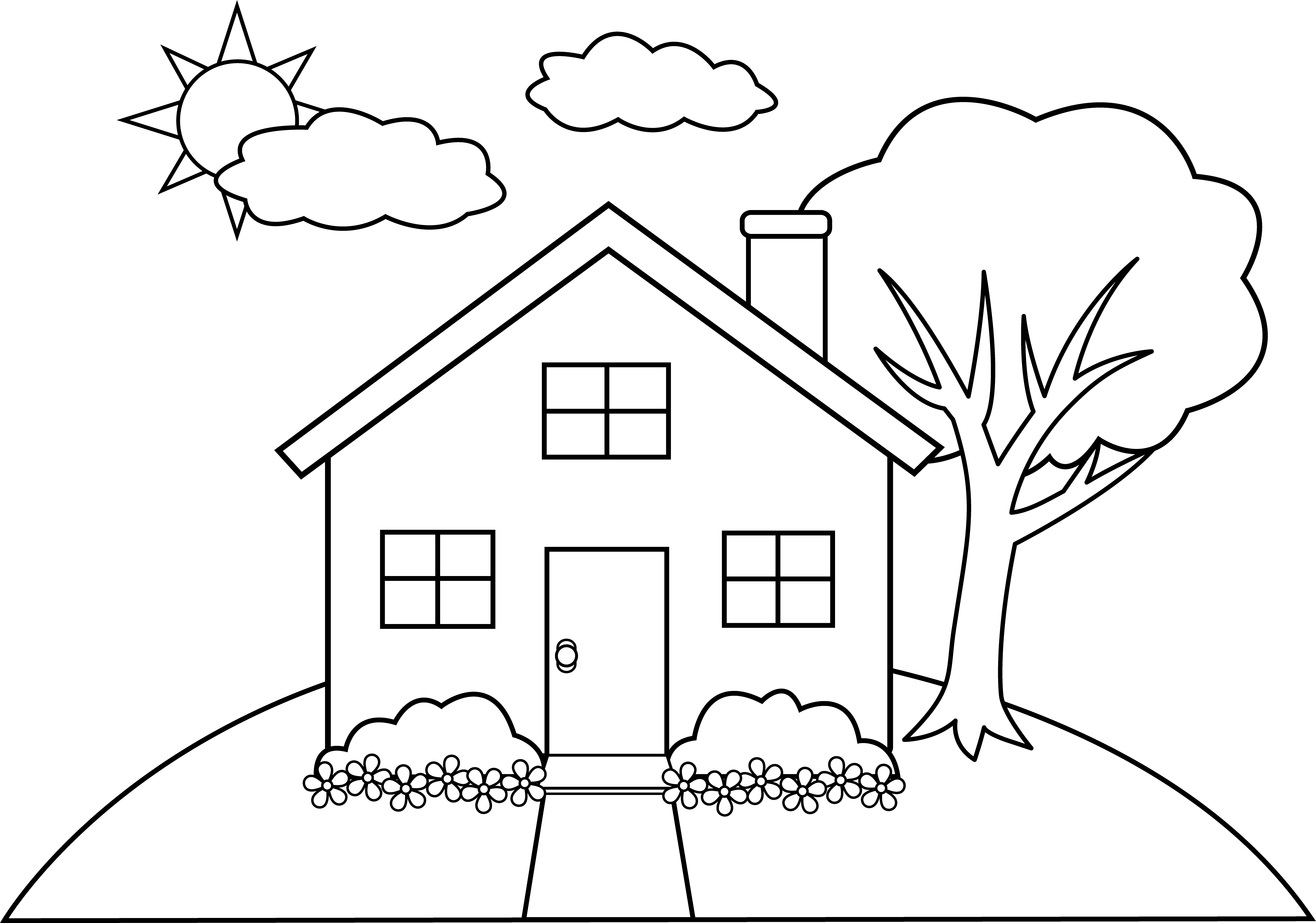 Cabin Easy Draw Transparent Png Clipart Free Download Ya Webdesign