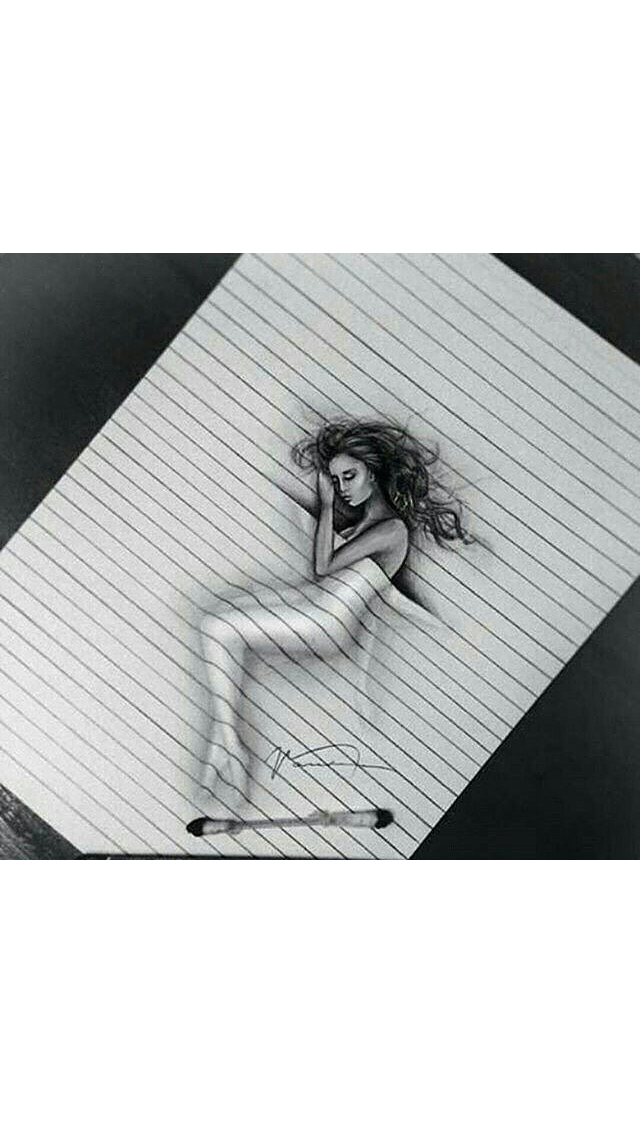 Illusions drawing realistic. Pin by isabelle warren