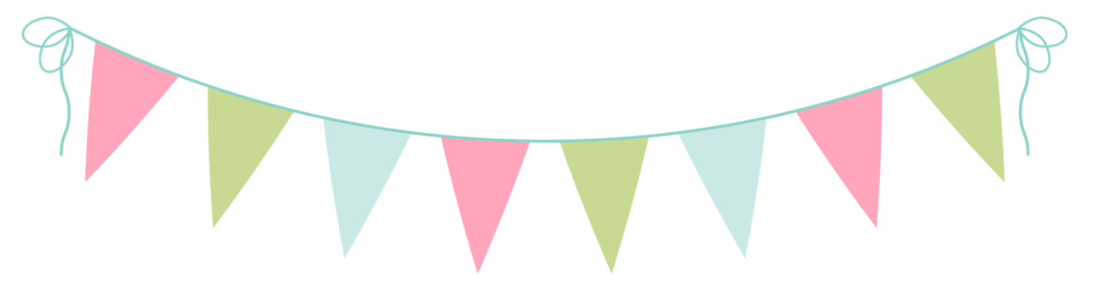 Pendant banner png. Pennant clipart free download