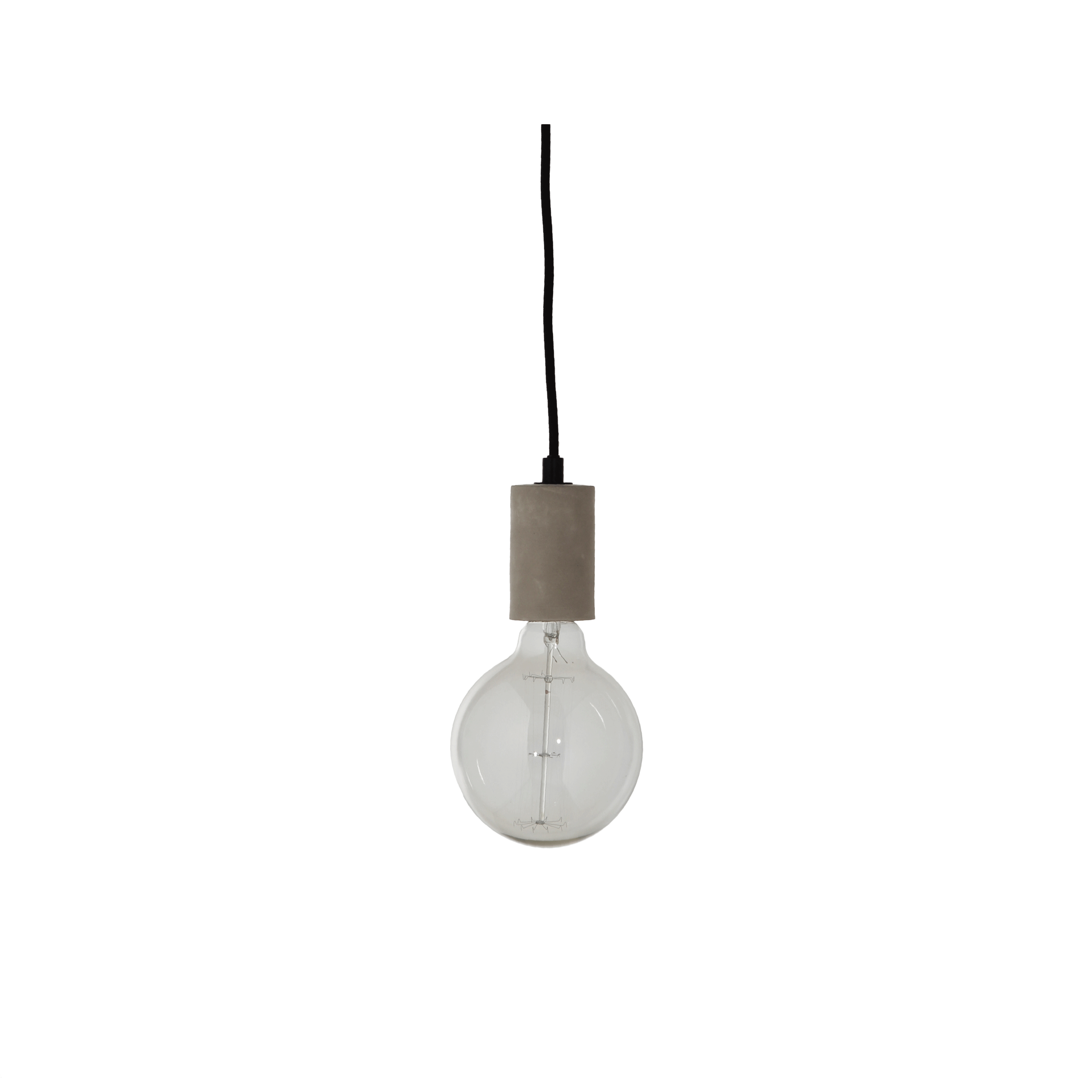 Pendant light png. Firefly in concrete online
