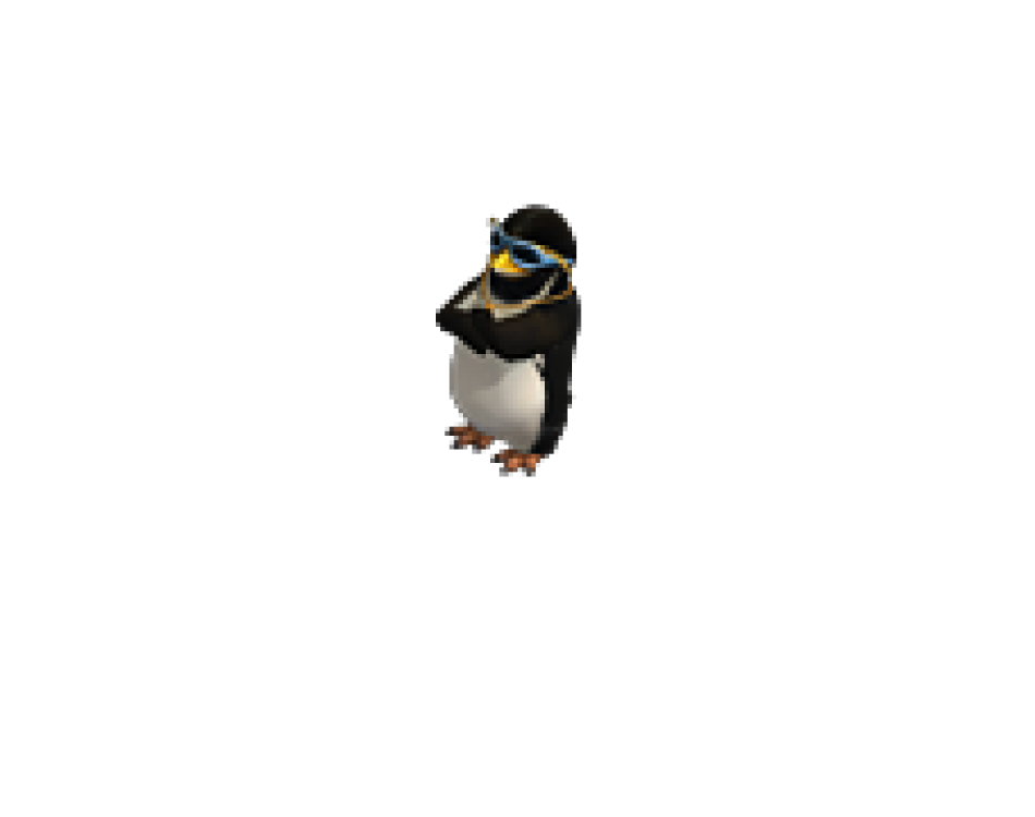Penguin. Cool game monster sprites
