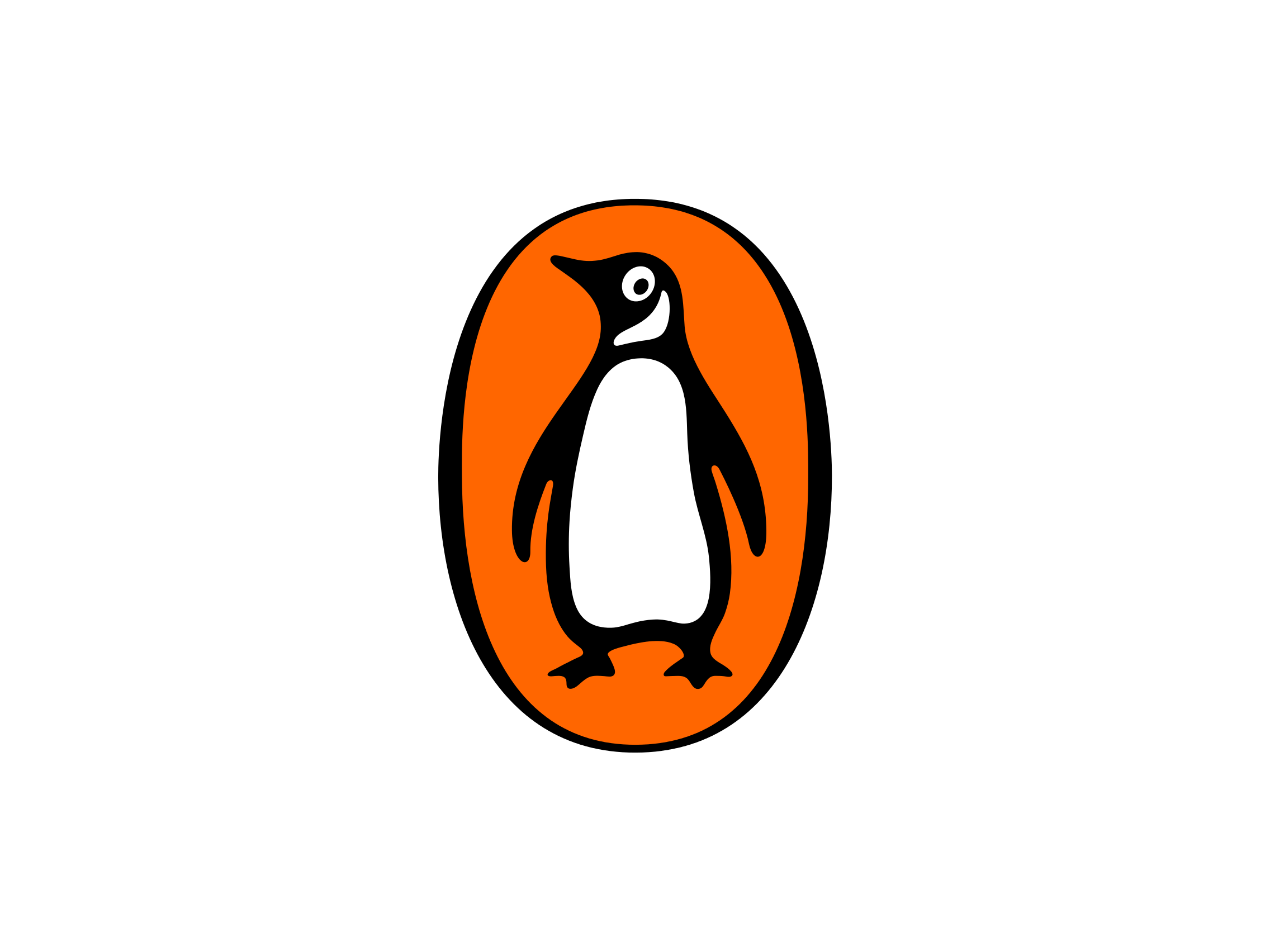 Drawing penguins logo. Penguin books png photo