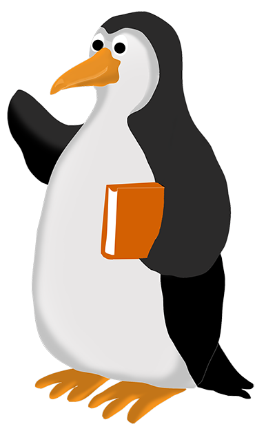 Penguin books png. Funny clip art clipart